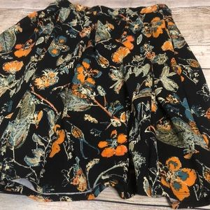Lularoe Madison Skirt sz M perfect fall colors